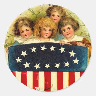 Vintage Girls Sticker