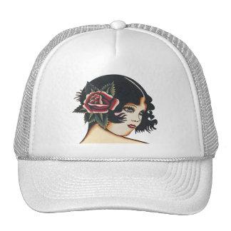 Vintage Girly Girl Cap
