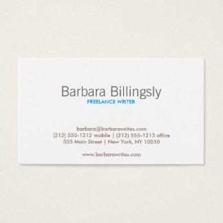 VINTAGE GLAMOUR Business Card