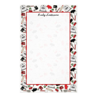 Vintage Glamour Kitchen Personalized Stationery