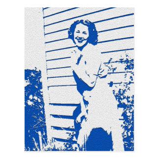 Vintage Glamour Postcard