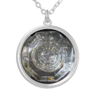 Vintage Glass Doorknob Necklace