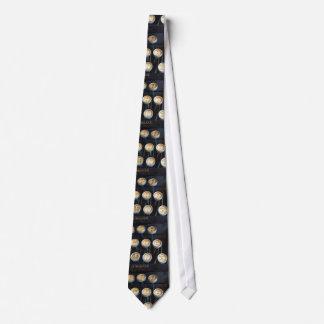 vintage glass keys typewriter tie