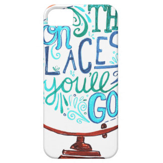 Vintage Globe - Oh The Places You'll Go Barely There iPhone 5 Case