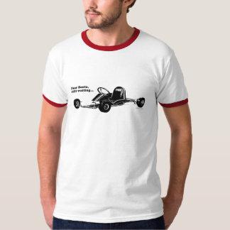 Vintage Go-Kart - Dear Santa, Still waiting... T-Shirt