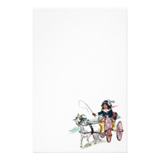 Vintage Goat and Buggy Stationery