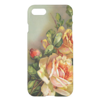 Vintage Gold and Blush Roses iPhone 8/7 Case