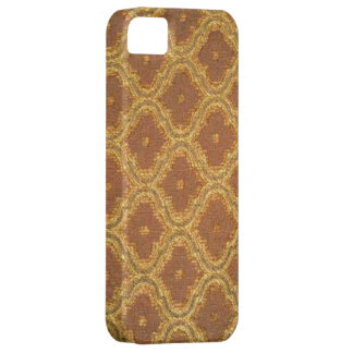 Vintage Gold Brown Damask Case-Mate iPhone 5 iPhone 5 Cover
