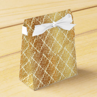 Vintage,gold,damask,floral,pattern,elegant,chic,be Favour Box