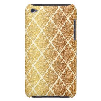 Vintage,gold,damask,floral,pattern,elegant,chic,be iPod Case-Mate Case