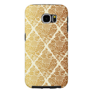 Vintage,gold,damask,floral,pattern,elegant,chic,be Samsung Galaxy S6 Cases