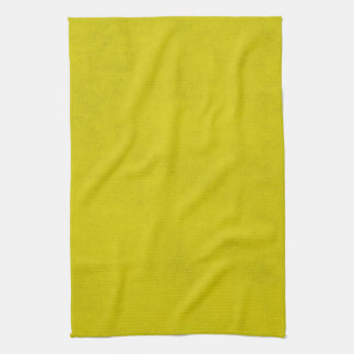Vintage Gold Yellow Parchment Background Template Tea Towel