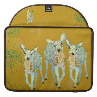 Vintage Golden Dearest Deer Macbook Sleeve Sleeves For MacBook Pro