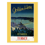 Vintage Golden Horn Istanbul Turkey travel
