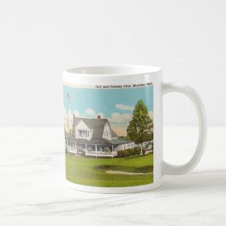 Vintage Golf Basic White Mug