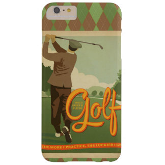 Vintage Golf Image iPhone Cover