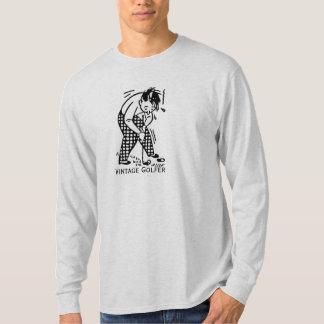 Vintage Golfer Design T-Shirt