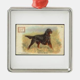 Vintage Gordon Setter Ornament