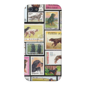 Vintage Gordon Setter World Stamps iPhone Case Case For The iPhone 5