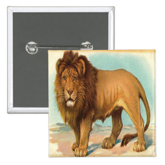 Vintage Gorgeous Lion Pin