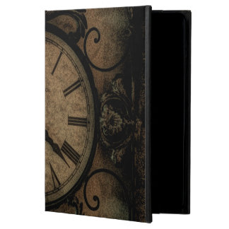 Vintage Gothic Antique Wall Clock Steampunk iPad Air Cover