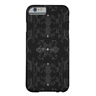 Vintage Gothic Elegance Jewels Barely There iPhone 6 Case