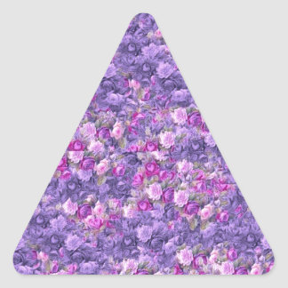 Vintage Gothic Rose Lavender Purple Stickers