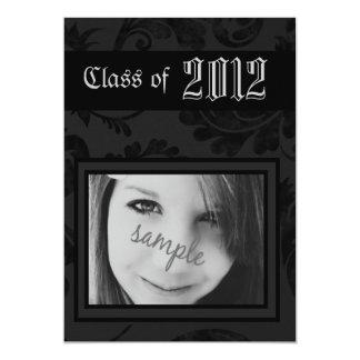 Vintage Gothic Steampunk or Emo Grad Student 13 Cm X 18 Cm Invitation Card