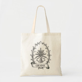 Vintage Grain Sack Label Tote Bbag