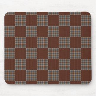 Vintage GranMa's Patch Quilt Mousepad
