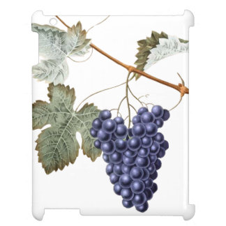Vintage Grapevine Grapes Leaf Purple Plant Vinyard Cover For The iPad