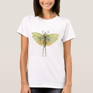 Vintage Grasshopper Print T-Shirt