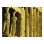 Vintage Greece, Athens, Acropolis, Parthenon Postcard