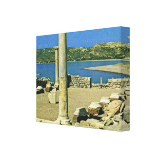 Vintage Greece, Cos, an island in the Dodecanese Canvas Prints