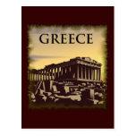 Vintage Greece Post Card