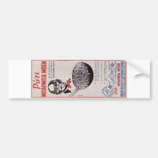 Vintage Greek Advertisement Uncle Ben Rice Old ad Bumper Stickers