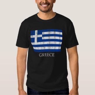 Vintage Greek Flag T-shirts