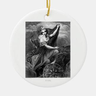 Ancient greek christmas tree decorations baubles for Artemis decoration