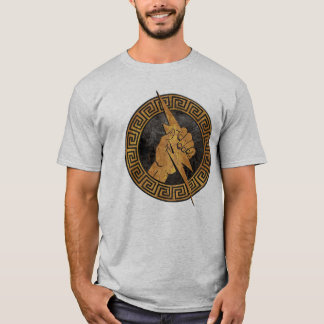 Vintage Greek Mythology Fist of Zeus T-Shirt
