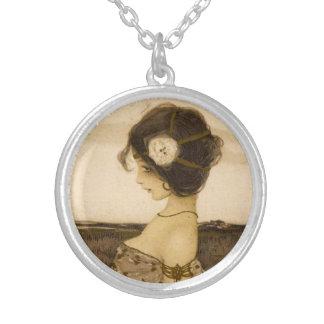 Vintage Greek Virgin Necklace