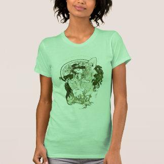 Vintage green goddess t shirt
