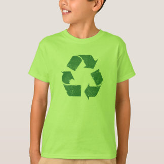 Vintage Green Recycle Sign Shirts