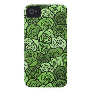Vintage green roses BlackBerry Bold Case