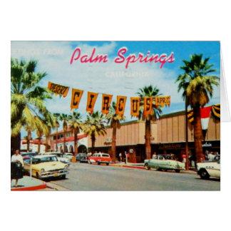 Vintage: Greetings from Palm Springs Card