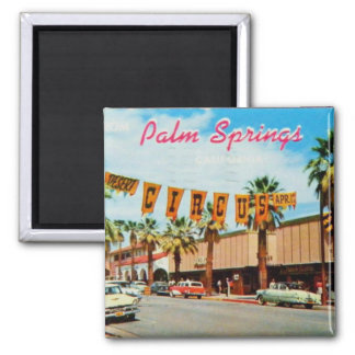 Vintage: Greetings from Palm Springs Magnet