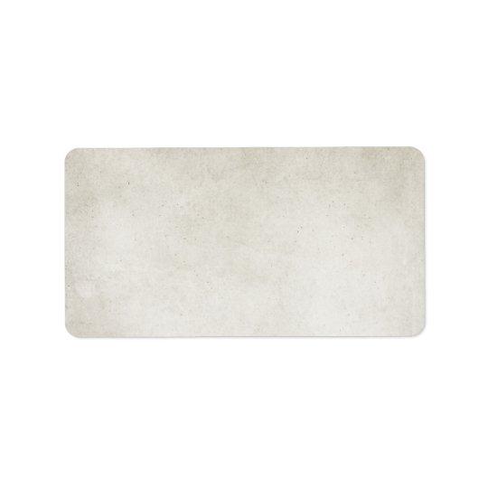 Vintage Grey Grunge Antique Parchment Background Address Label