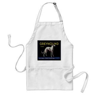 Vintage Greyhound Lemon Label Circa 1920 Standard Apron