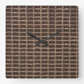 Vintage grill cloth wall clock