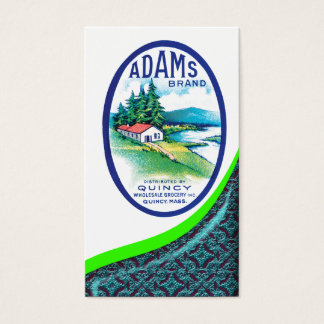 Vintage Grocery Business Card