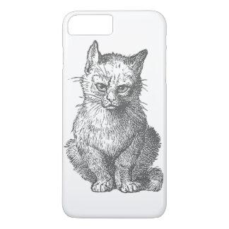 Vintage Grumpy Cat Design iPhone 7 Plus Case